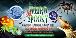 Weird and spooky banner Oct 2016