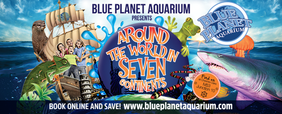Blue planet aquarium discount vouchers - 60 inch television